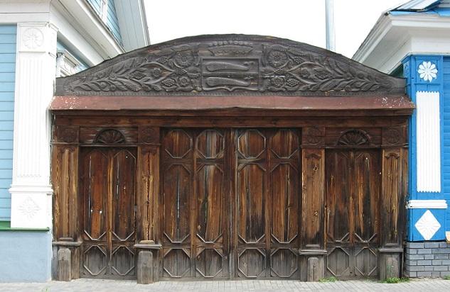 Ворота дома графини Паниной.